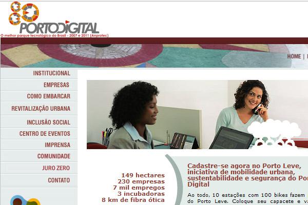 Imagem da Notícia no site do Porto Digital