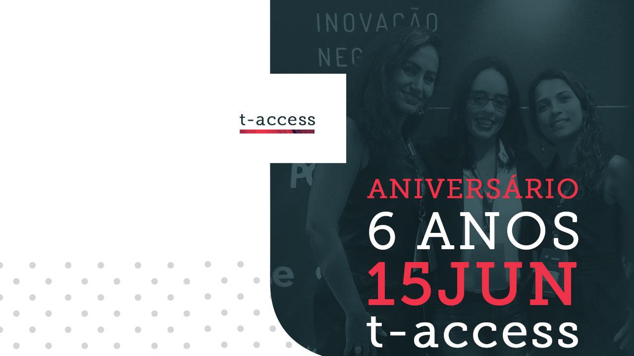 imagem do  ANIVERSÁRIO DA T-ACCESS